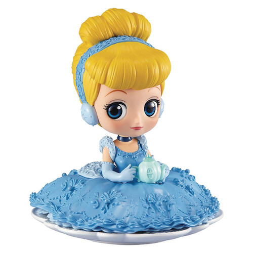 Disney Q Posket Sugirly Cinderella 3-Inch Collectible PVC Figure