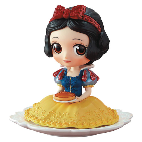 Disney Q Posket Sugirly Snow White 3-Inch Collectible PVC Figure