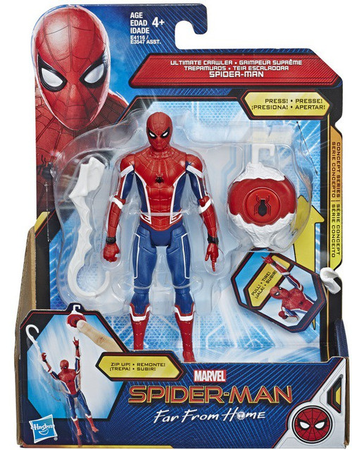Marvel Far From Home Ultimate Crawler Spider-Man Action Figure