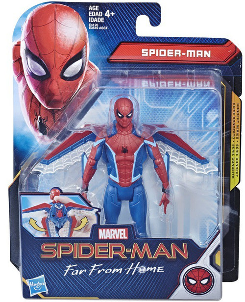 Marvel Far From Home Glider Gear Spider-Man Action Figure