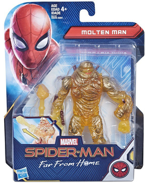 Marvel Spider-Man Far From Home Molten Man Action Figure