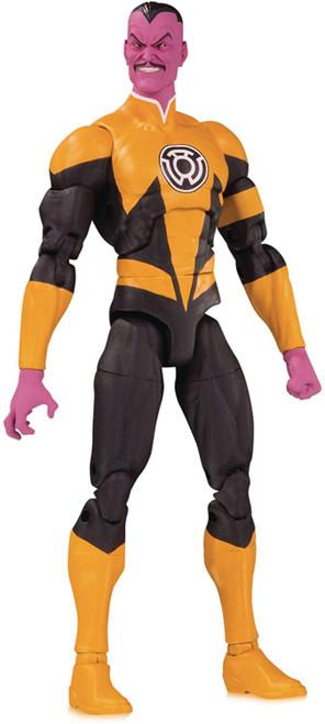 DC Essentials Yellow Lantern Sinestro Action Figure