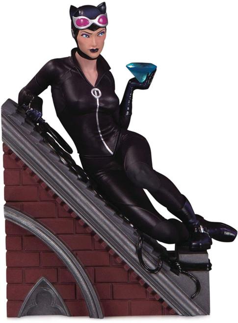 DC Batman Rogues Gallery Catwoman 4.8-Inch Multi-Part Statue Diorama