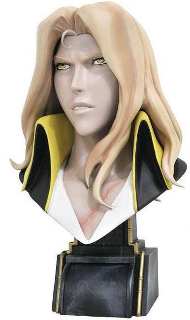 Castlevania Legends in 3D Alucard Half-Scale Bust (Pre-Order ships April)