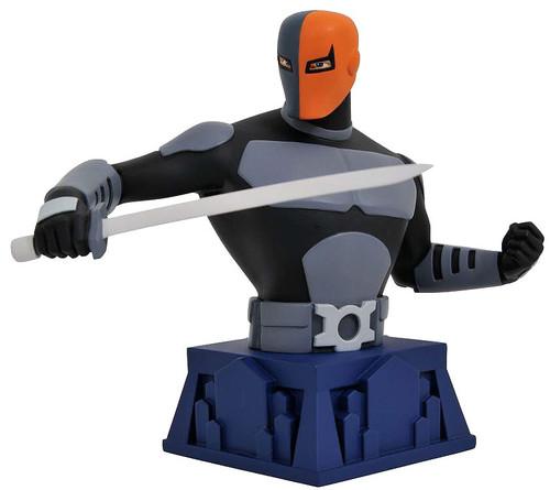 DC Batman The Animated Series Deathstroke 6-Inch Bust [Beware the Batman]