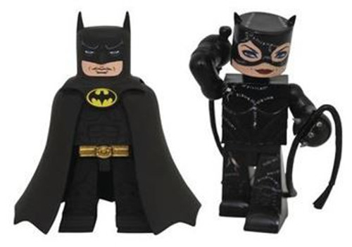 Batman Returns Batman & Catwoman 4-Inch PVC Figure 2-Pack