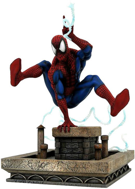 Marvel Gallery Spider-Man 8-Inch Collectible PVC Statue [90's Version]
