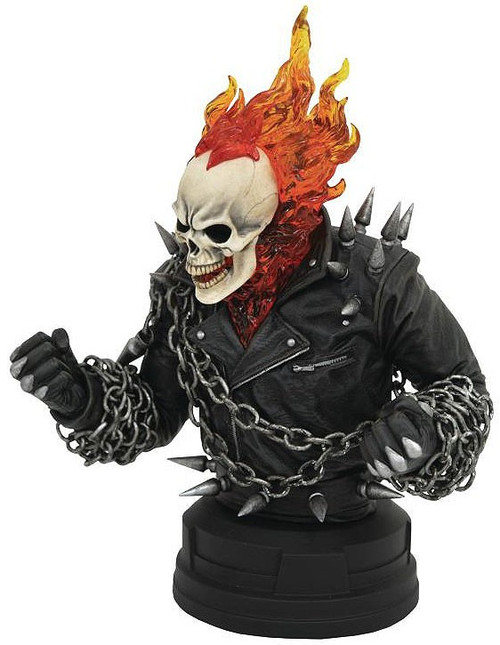 Marvel Ghost Rider 8-Inch Bust [90's Version]