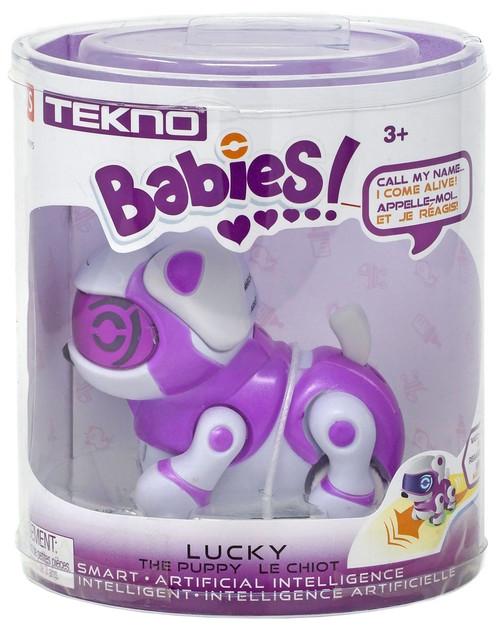 Tekno Babies Lucky the Puppy Robotic Pet Figure