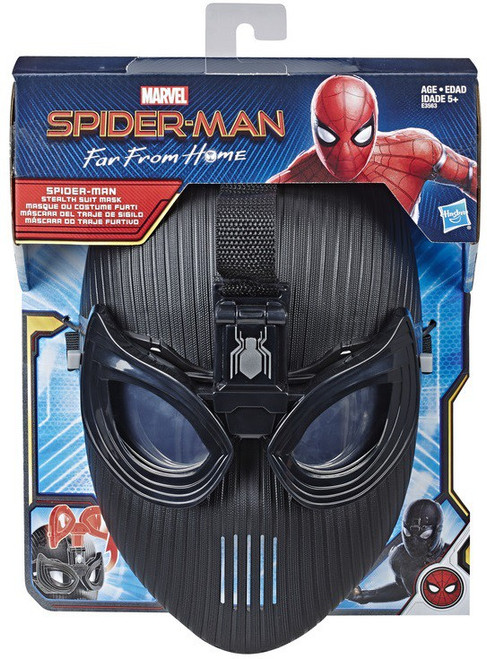 Marvel Spider-Man Far From Home Stealth Suit Mask Roleplay Toy