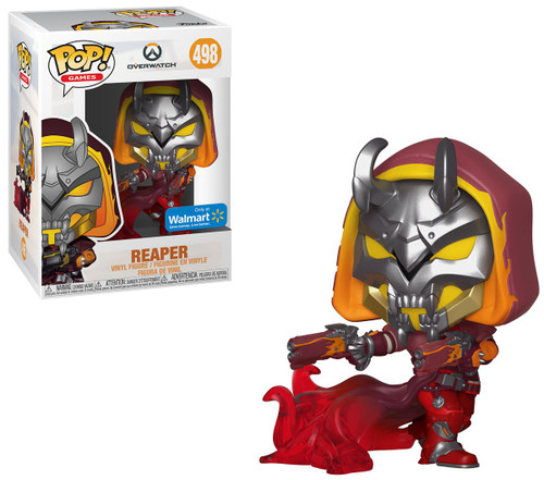 Funko Overwatch POP! Video Games Reaper Exclusive Vinyl Figure #498 [Hell Fire]