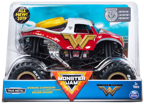 Monster Jam DC True Metal Wonder Woman Diecast Car
