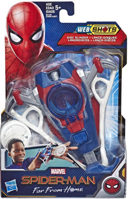 Marvel Spider-Man Far From Home Web Shots Disc Slinger Roleplay Toy