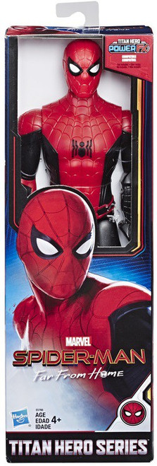 Marvel Spider-Man Far From Home Titan Hero Power FX Series Hero Suit Spider-Man Action Figure