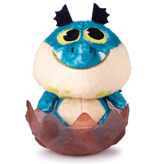 How to Train Your Dragon The Hidden World Blue Gronckle 3-Inch Egg Plush
