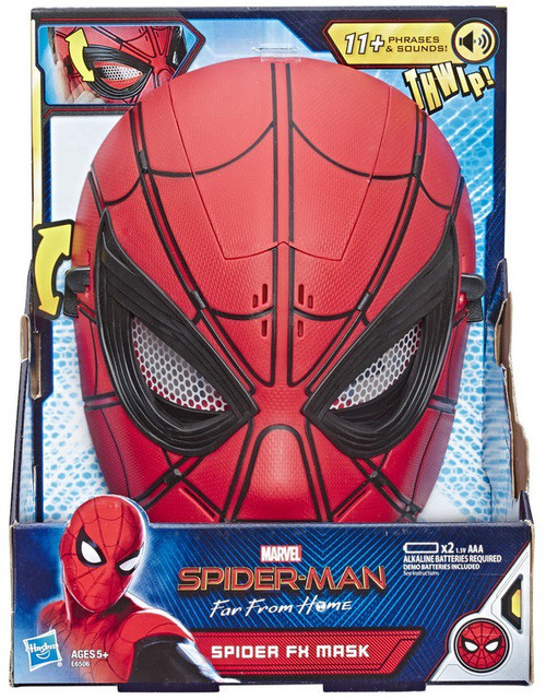 Marvel Spider-Man Far From Home Spider FX Mask Roleplay Toy