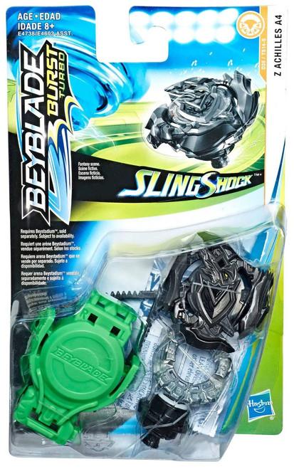 Beyblade Burst Turbo Slingshock Z Achilles A4 Starter Pack [Black]