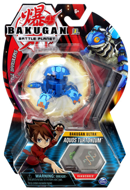 Bakugan Battle Planet Battle Brawlers Ultra Aquos Turtonium