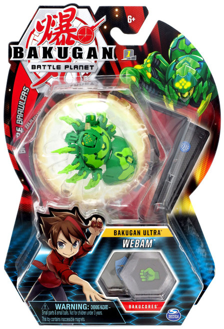 Bakugan Battle Planet Battle Brawlers Ultra Webam
