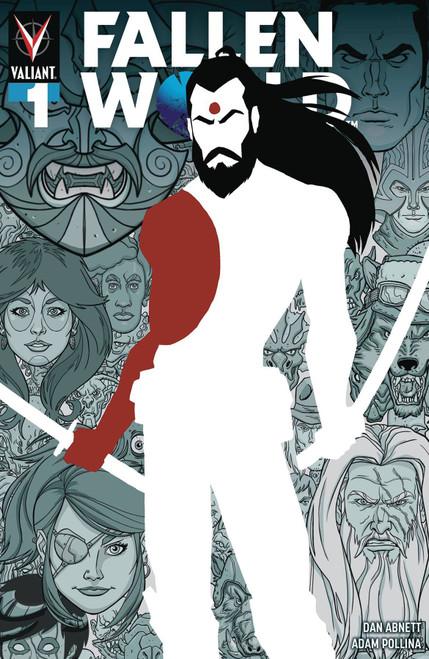 Valiant Comics Fallen World #1 Comic Book [A. J. Jothikumar Cover B]