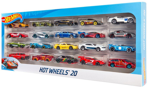 Hot Wheels 20 Die-Cast Car 20-Pack [Styles Vary - RANDOM Cars]
