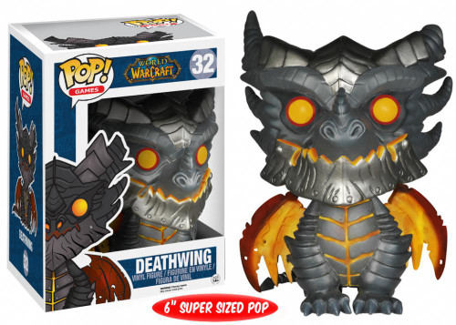 Funko World of Warcraft POP! Games Deathwing Vinyl Figure #32 [Damaged Package, Mint Figures]
