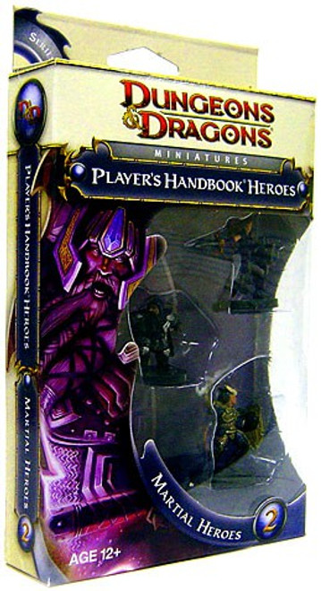 Dungeons & Dragons Martial Heroes Miniature Set