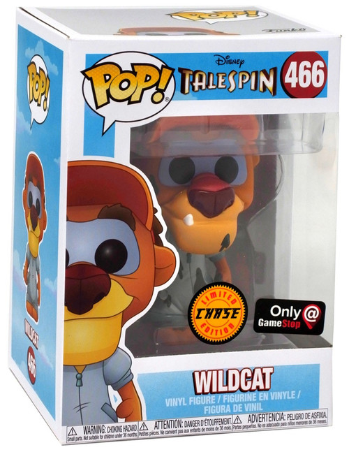Funko TaleSpin POP! Disney Wildcat Exclusive Vinyl Figure #466 [Oil Stains, Chase Version]
