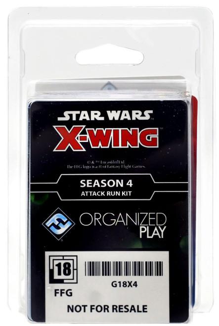Star Wars X-Wing Miniatures Game Season 4 Attack Run Kit Expansion Pack