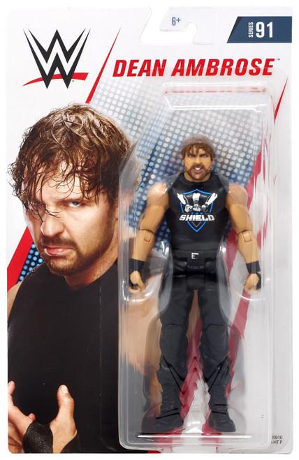 WWE Wrestling Series 91 Dean Ambrose Action Figure [Shield Shirt]