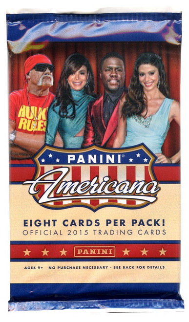Panini 2015 Americana Trading Card Pack [8 Cards]