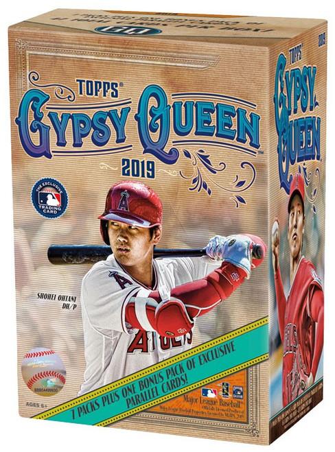 MLB Topps 2019 Gypsy Queen Baseball Trading Card BLASTER Box [7 Packs + 1 Bonus Pack!]