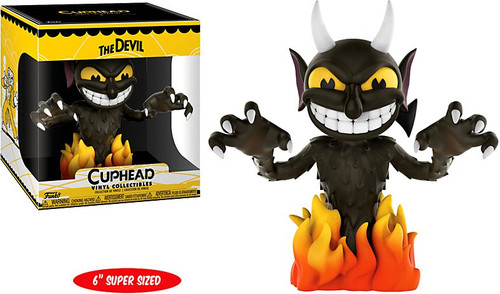 Cuphead Funko Games The Devil 6-Inch Vinyl Figure [Super-Sized, Damaged Package]
