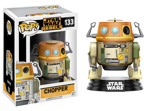 Funko Rebels POP! Star Wars Chopper Vinyl Bobble Head #133 [Damaged Package]