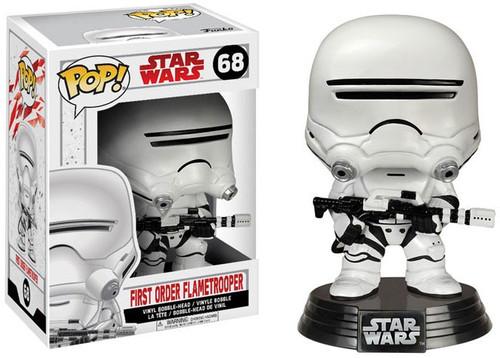 Funko The Last Jedi POP! Star Wars Flametrooper Vinyl Bobble Head #68 [Damaged Package]