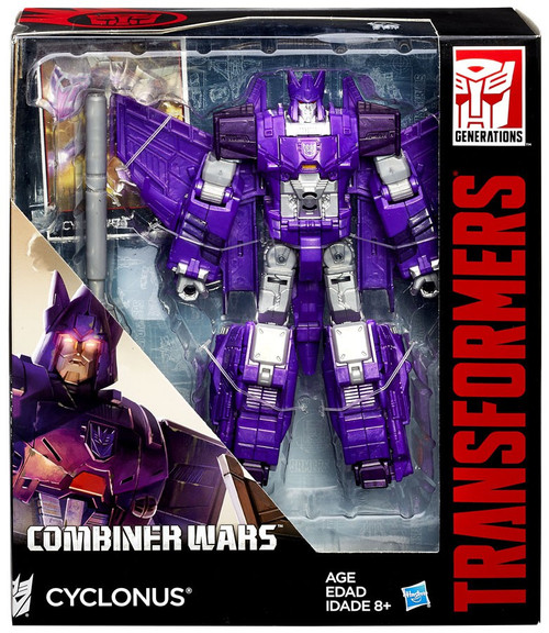Transformers Generations Combiner Wars Cyclonus Voyager Action Figure [Damaged Package]
