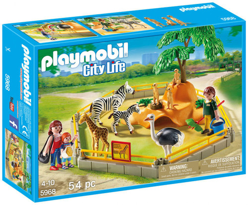 Playmobil City Life Zoo Set #5968 [Damaged Package]
