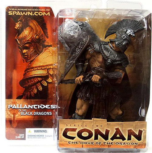 McFarlane Toys Conan the Barbarian The Hour of the Dragon Series 2 Pallantides of the Black Dragon Action Figure [Damaged Package]