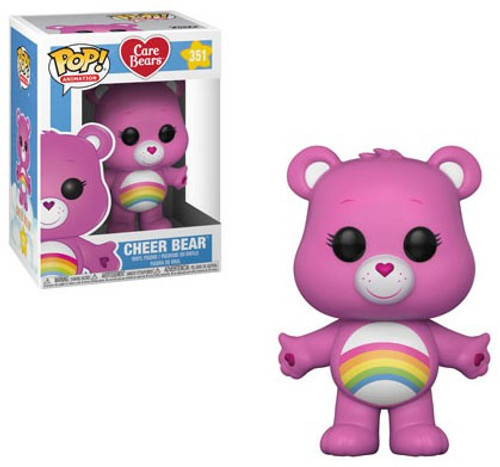 Funko Care Bears POP! Animation Cheer Bear Vinyl Figure #351 [Regular Version, Damaged Package]