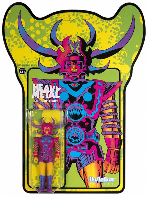 ReAction Heavy Metal Lord of Light Action Figure [Standard, Damaged Package]