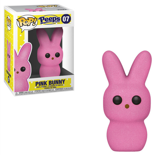 Funko Peeps POP! Candy Pink Bunny Vinyl Figure #07 [Damaged Package]