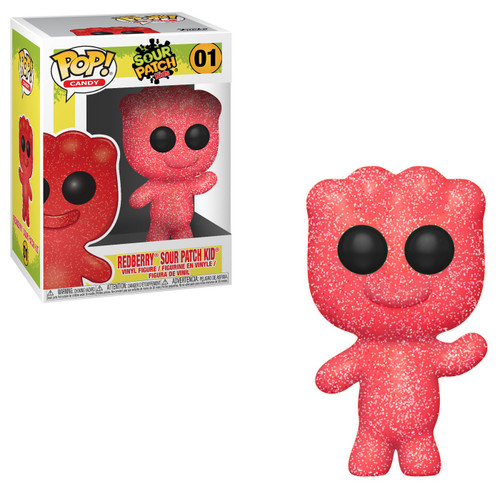 Funko Sour Patch Kids POP! Candy Redberry Sour Patch Kid Vinyl Figure #01 [Damaged Package]