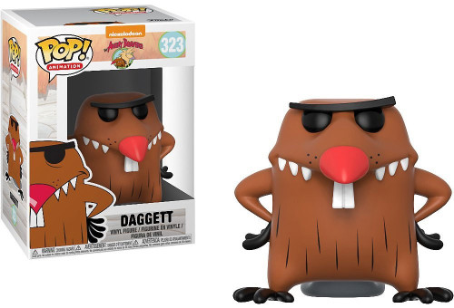 Funko Nickelodeon Angry Beavers POP! TV Dagget Vinyl Figure [Damaged Package]