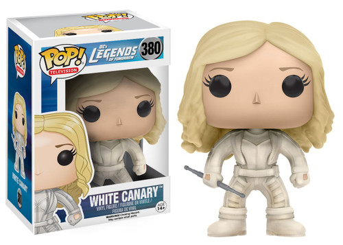 Funko DC Legends of Tomorrow POP! TV White Canary Vinyl Figure #380 [Damaged Package]