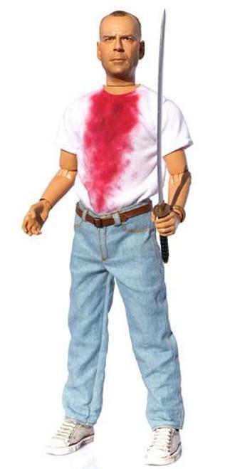 Pulp Fiction Butch Coolidge Action Figure [Explicit Talking, Damaged Package]