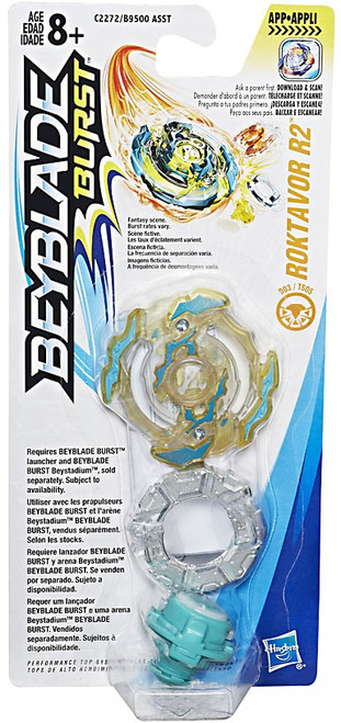 Beyblade Burst Roktavor R2 Single Top [Damaged Package]
