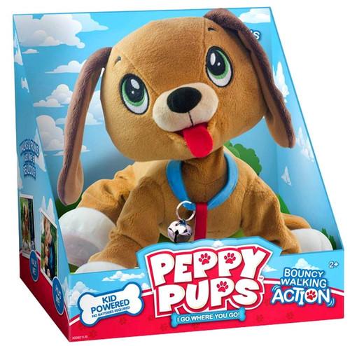 Peppy Pups Walking Plush [Damaged Package]