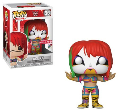 Funko WWE Wrestling POP! Sports Asuka Exclusive Vinyl Figure #56 [Chase, Damaged Package]