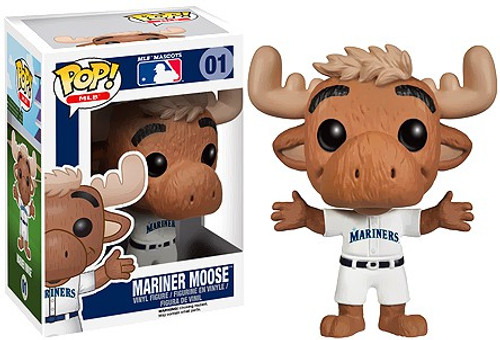 Funko MLB Seattle Mariners POP! Sports Baseball Mariner Moose Vinyl Figure #1 [Mascot, Damaged Package]