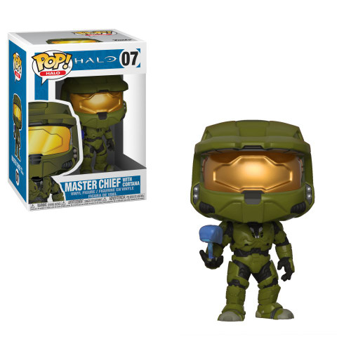 Funko POP! Halo Master Chief with Cortana Vinyl Figure #07 [Damaged Package]